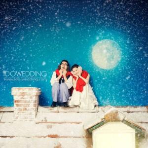 Korean Winter Wedding Photography
