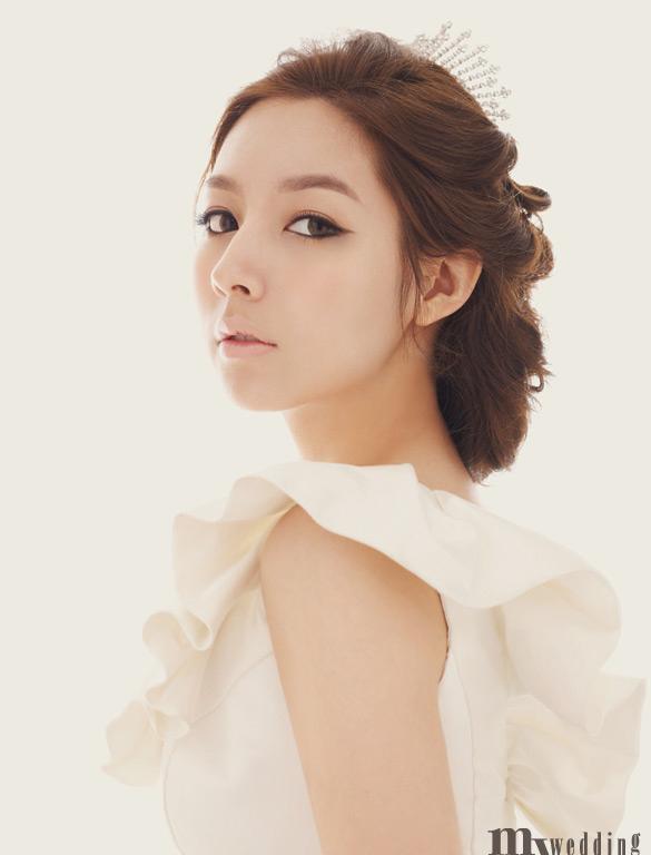 Gallery For > Korean Wedding Makeup