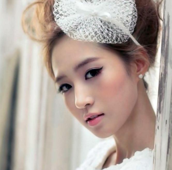 Wedding Hairstyle Korean: Memorable Wedding: Asian Wedding Makeup