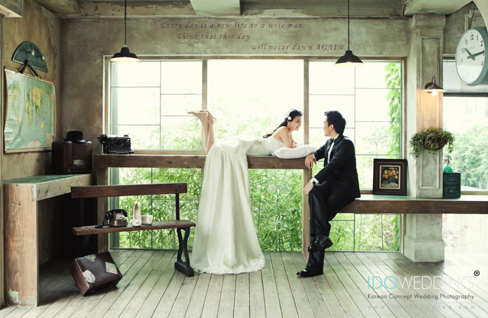Korea Wedding, Korean Wedding Photo, Korean Wedding Photography, Korean Pre-wedding Photo, Korean Concept Wedding Photography, We got married, Singapore Wedding Photography, IDOWEDDING