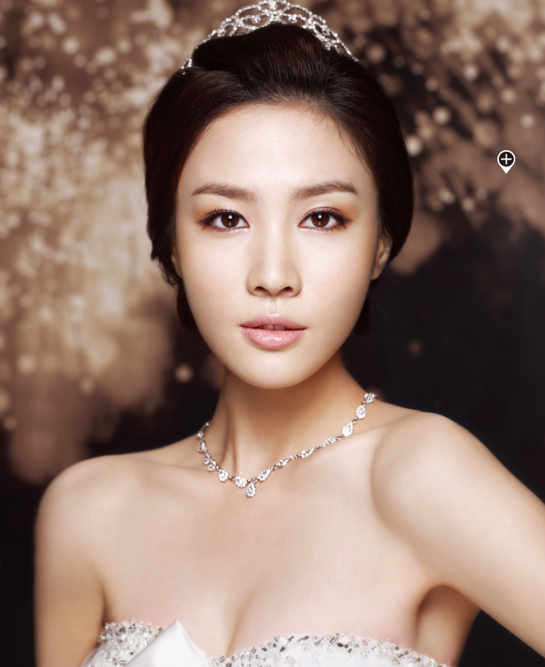 Bridal Makeup Hairstyle Images : Korean Wedding Hair and Makeup Korean Wedding Photo - IDO ...