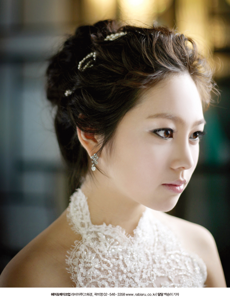 Bridal Makeup For Destination Wedding : Bridal Collection Korean Wedding Photo - IDO WEDDING