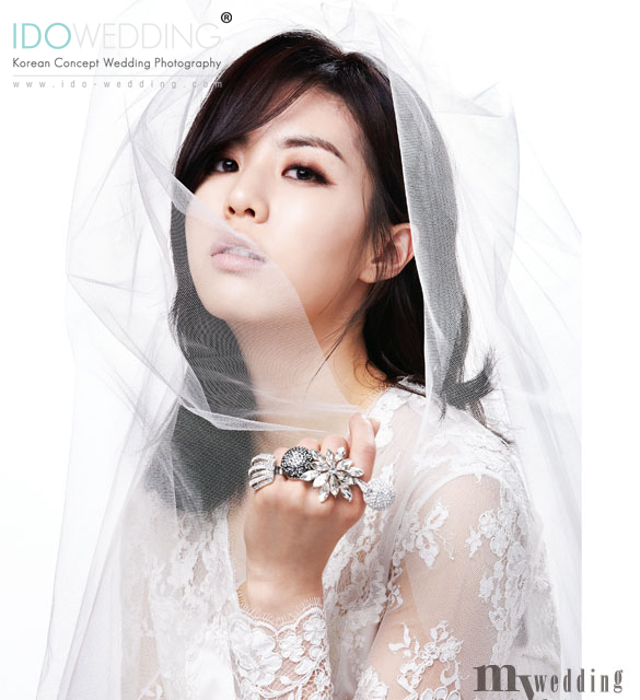Images Korean Wedding Make Up : Korean Wedding Gown / Dress Korean Wedding Photo - IDO ...