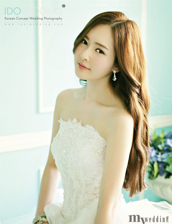 Korean Wedding Photo Hair and Makeup Style Korean ...