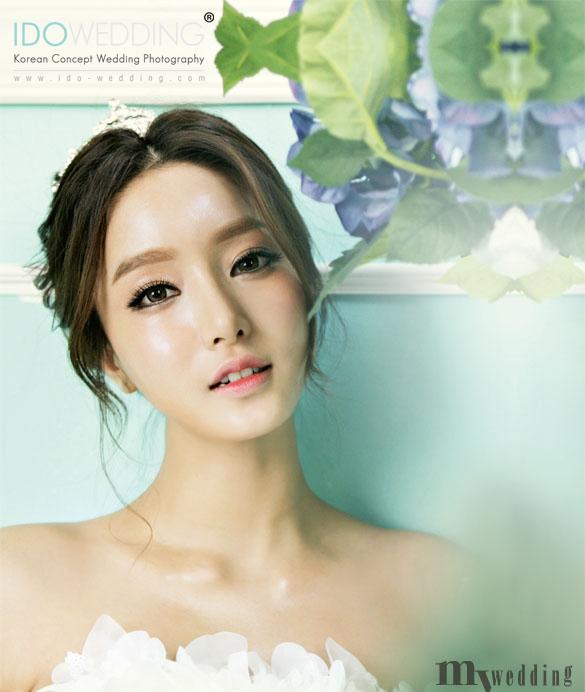 Korean Wedding Photo Hair and Makeup Style Korean ...