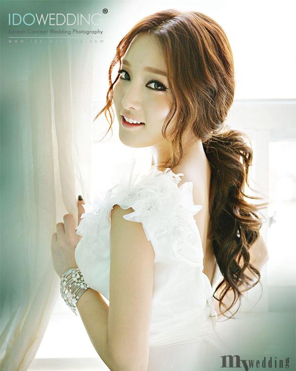 Makeup Wedding Korean Style : koreawedding hair-makeup142