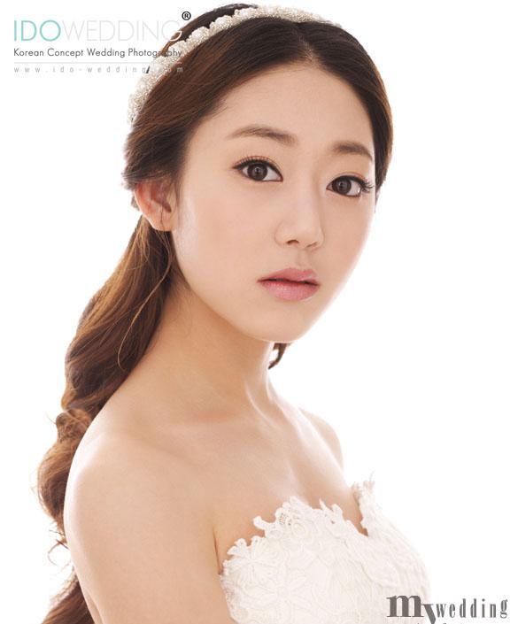 Wedding Hairstyle Korean: Korean Wedding Photo – Hair & Makeup Style