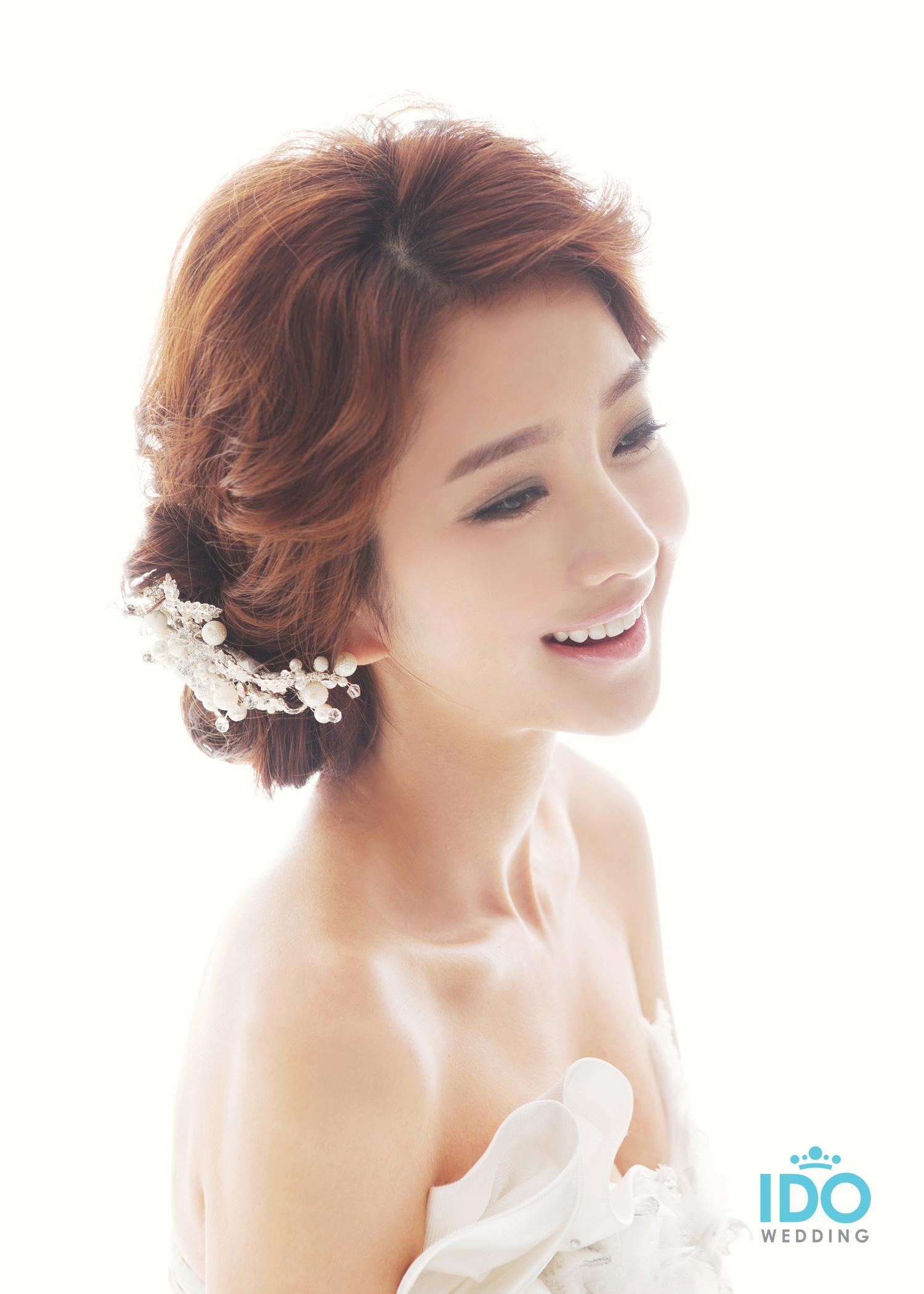 Korean wedding hairstyles a la